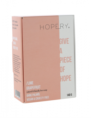 Bar Soap Lime Grapefruit - hopery