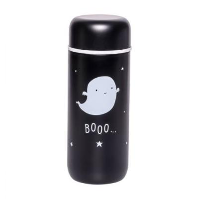 Doppelwandige Edelstahltrinkflasche: Gespenst - von little lovely company