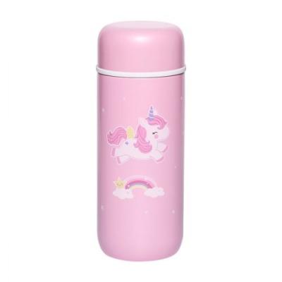 Doppelwandige Edelstahltrinkflasche: Einhorn von little lovely