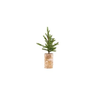 Weihnachtsbaum mit Lämpchen Holzfuss von house