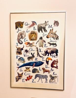 Poster Kaisers ABC der fabelhaften Tiere