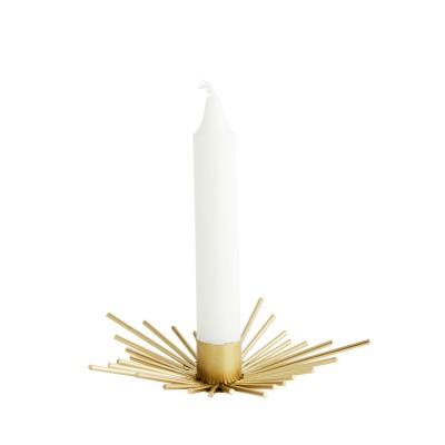 Kerzenhalter spike gold - D:15 x