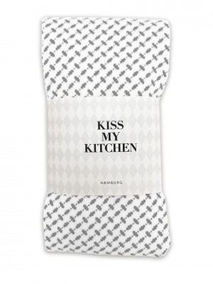 Küchen-Handtuch Soft Cotton Pali grey - von kiss my kitchen