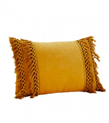 Baumwollkissenbezug mustard - 40x60 cm