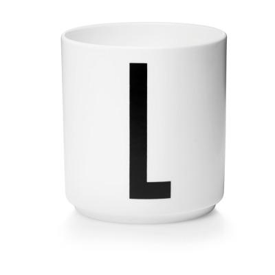 Porzellanbecher L - Design Letters