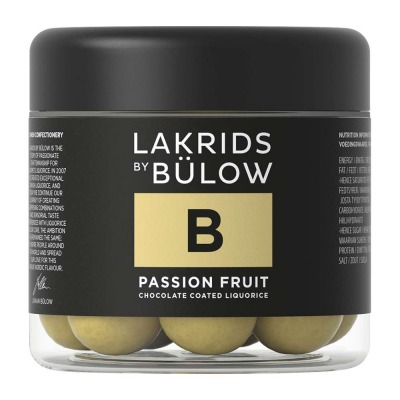Lakrids B - PASSION FRUIT - small 125g