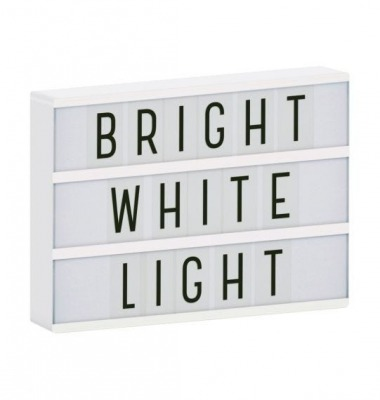 Lightbox A4 weiss von little lovely