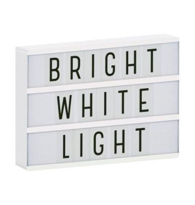 Lightbox A4 weiss von little lovely