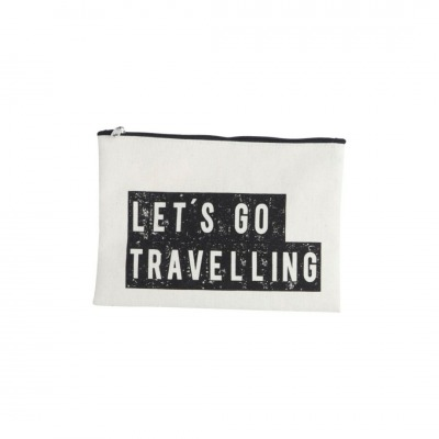Make-up Tasche Let s go travelling - 21 x 15cm