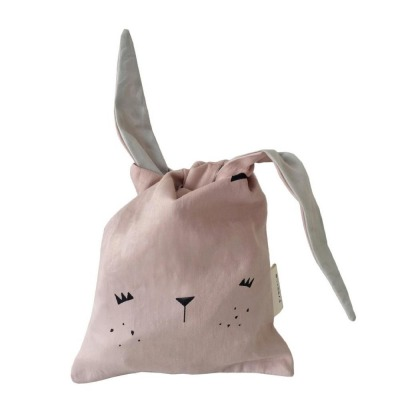 Snack Beutel - bunny - mauve