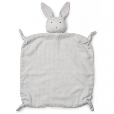 Schmusetuch Hase - dumbo grey