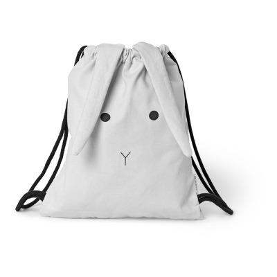 Sporttasche Hase - dumbo grey