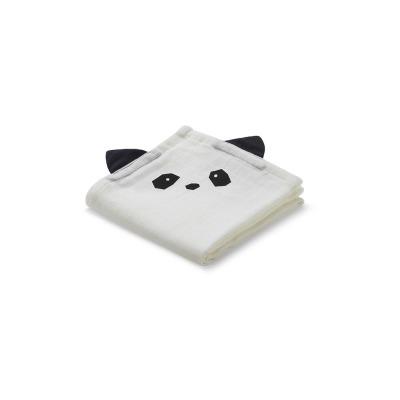 Muslin Tuch Panda - creme