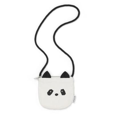 Umhängetasche Panda - creme