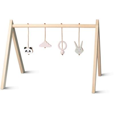 Playgym mit Accessoires Girlie - aus Buchenholz