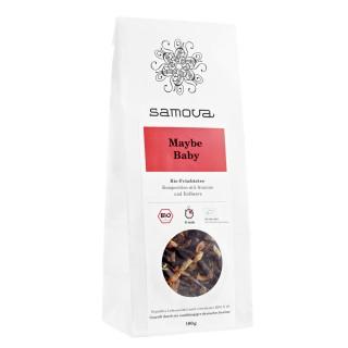 samova Tee MAYBE BABY Refill, 100g - Bio-Fruchtmischung - Komposition mit Ananas und Erdbeere