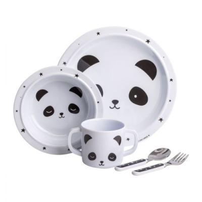 Geschirrset: Panda von little lovely company