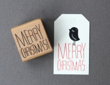 Stempel Merry Christmas Stempel Merry Christmas