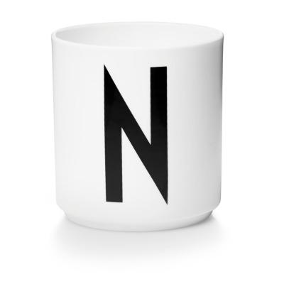 Porzellanbecher N - Design Letters
