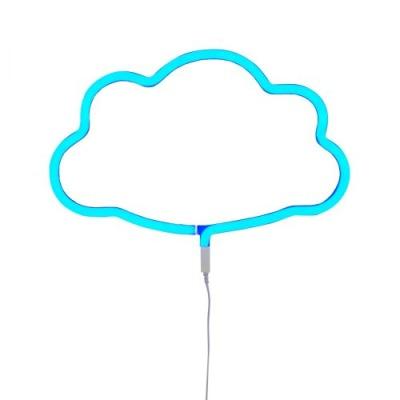 Neonstyle Lampe: Wolke - blau - von little lovely company
