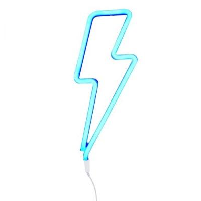 Neonstyle Lampe: Blitz - blau - von little lovely company