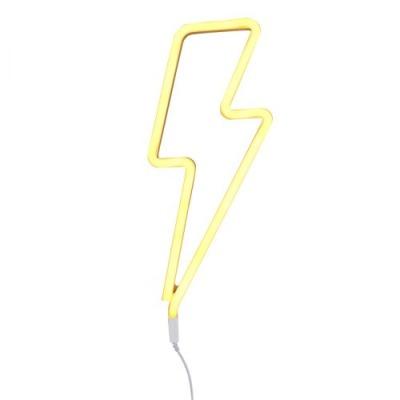 Neonstyle Lampe: Blitz - gelb - von little lovely company