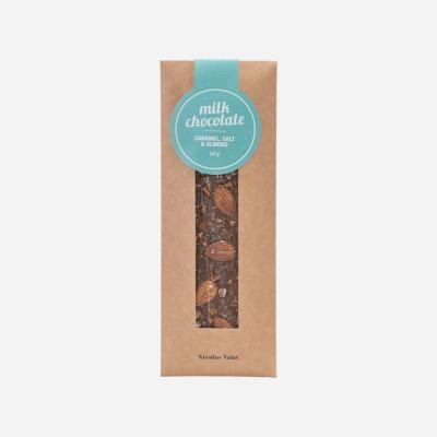 Vollmilchschokolade mit Karamell Salz Nicolas Vahé