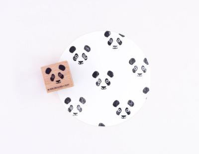 Stempel Pandakopf - von Perlenfischer