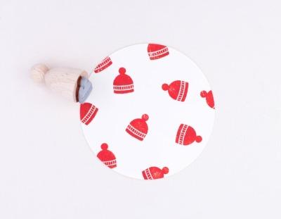 Stempel Mütze - Perlenfischer