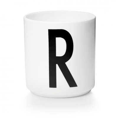 Porzellanbecher R - Design Letters