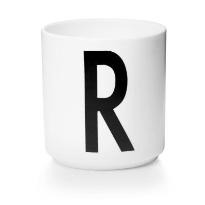 Porzellanbecher R - Design Letters