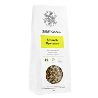 samova Tee Smooth Operator Refill, 50g - Reine Bio-Kamillenblüten - aus kontrolliert biologischem Anbau