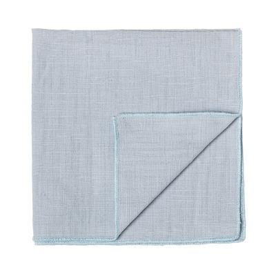 Stoffserviette blau - aus Baumwolle