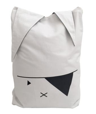 Aufbewahrungstasche - pirate bunny - weiß