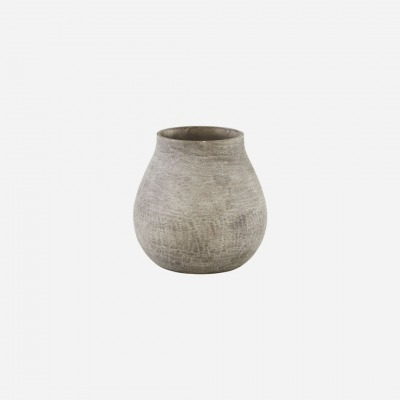 Vase Groove Braun von house doctor