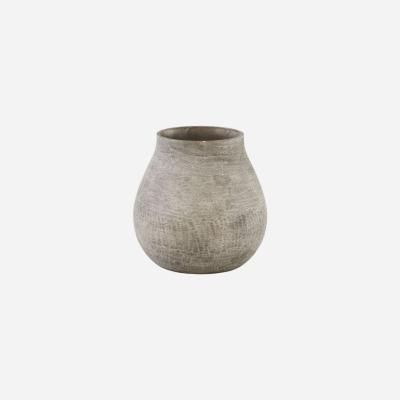 Vase Groove grau von house doctor