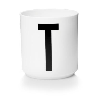 Porzellanbecher T - Design Letters