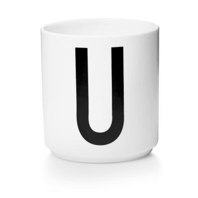 Porzellanbecher U - Design Letters