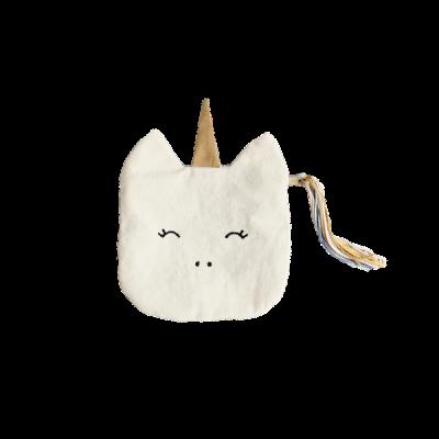 Geldbörse - unicorn - 10 x 10 cm