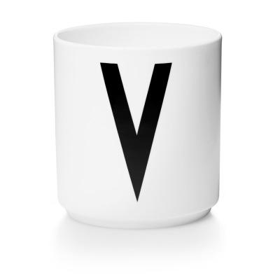 Porzellanbecher V - Design Letters