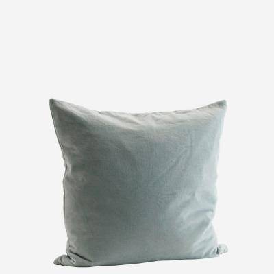Kissenbezug Velvet, hellgrün - 50x50 cm
