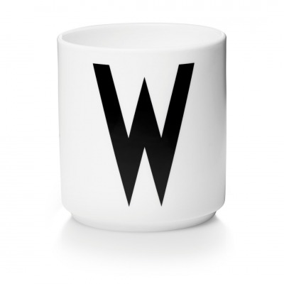 Porzellanbecher W - Design Letters