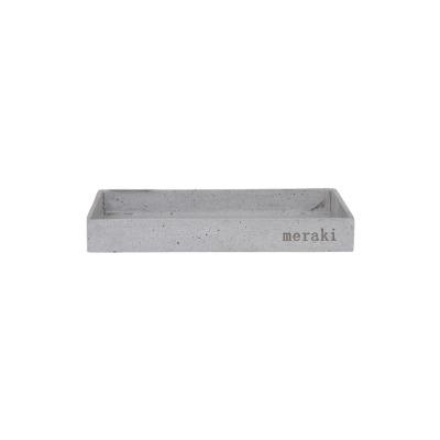 Tablett Betonoptik - 30x 20cm H:35cm