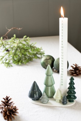 Kerzenhalter Winterstories FOREST Dottir Nordic Design
