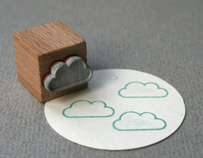 Stempel Wolke outline - Stempel Wolke outline