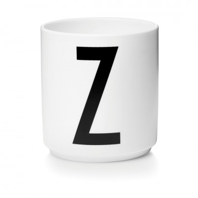 Porzellanbecher Z - Design Letters