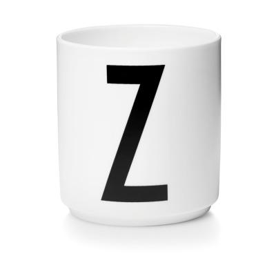 Porzellanbecher Z - Design Letters