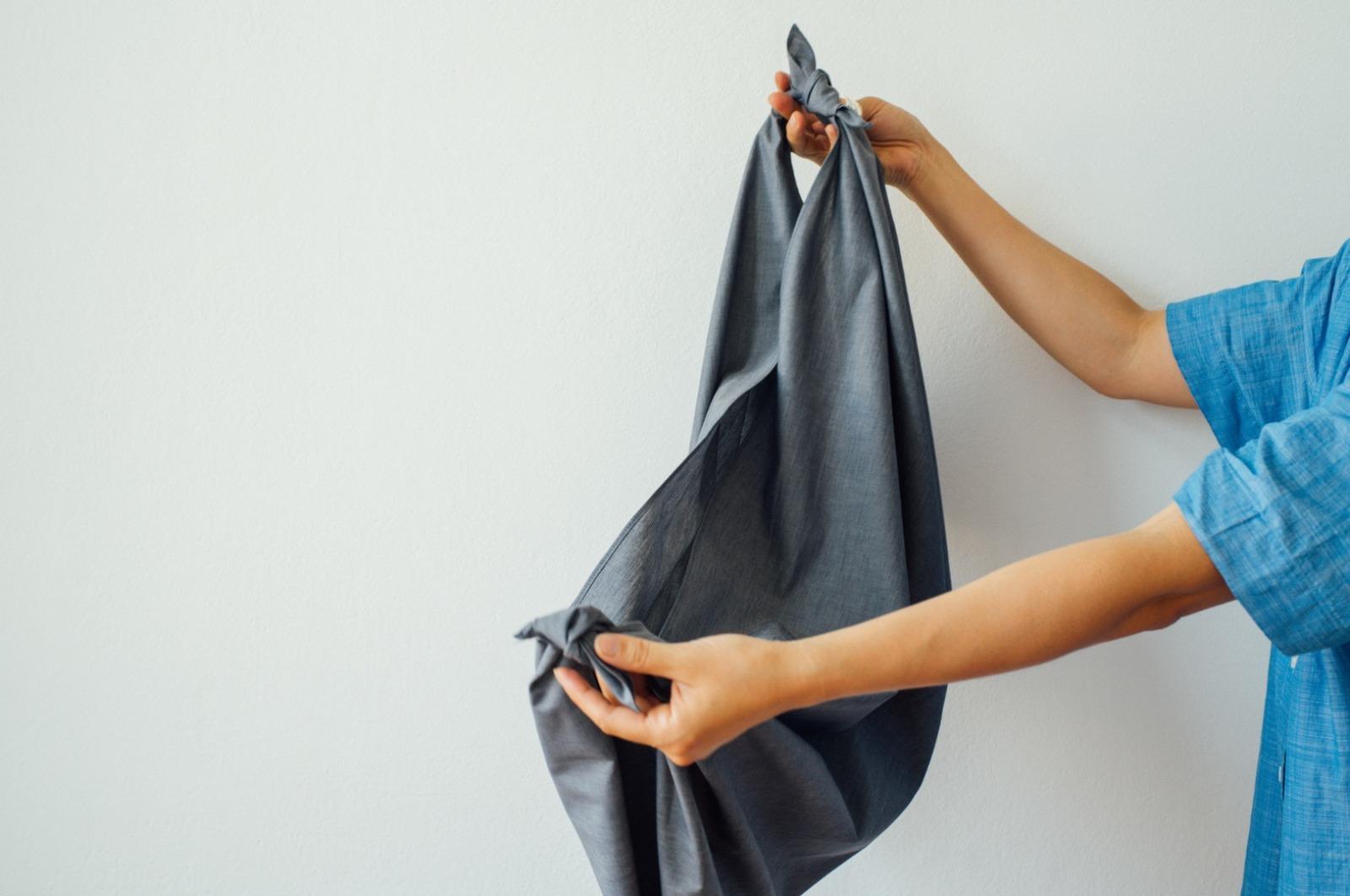 Furoshiki cloth / organic cotton 2