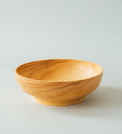eshly Deli Deep Bowl - Big bowl from massive ash wood
