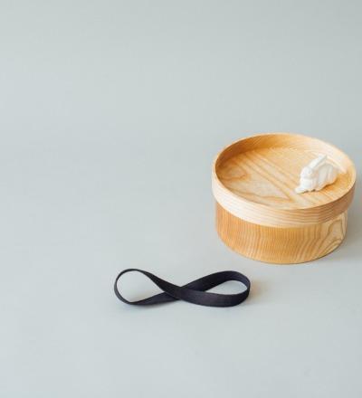eshly deli Box Basic XL - Bentobox from massive ash wood
